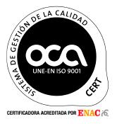 Sello calidad UNE-En ISO 9001