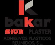 Adhesivos plásticos reunidos